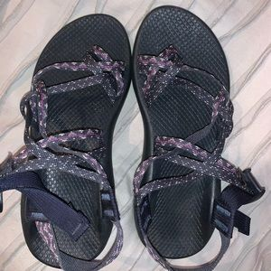 Navy chacos